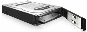 IcyBox interní box 3.5'' pro 2x HDD 2.5'' SATA , RAID 0/1, černo-stříbrný