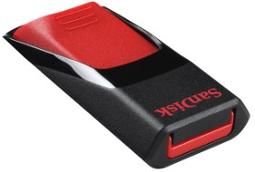 SanDisk Cruzer EDGE 16GB USB 2.0 flashdisk (zápis: 10MB/s; čtení: 15MB/s)