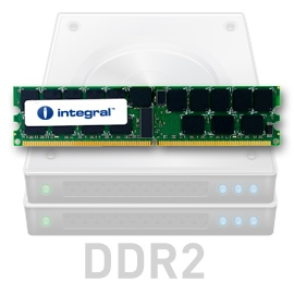 INTEGRAL 4GB (Kit 2x2GB) 800MHz DDR2 ECC CL6 R2 Fully Buffered DIMM 1.8V
