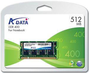 ADATA 512MB 400MHz DDR SODIMM (pro NTB)