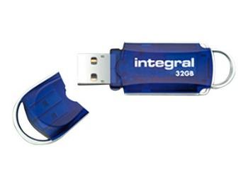 INTEGRAL Courier 32GB USB 3.0 flashdisk (čtení až 180MB/s; zápis až 45MB/s)