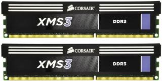 Corsair XMS3 8GB (Kit 2x4GB) 1600MHz DDR3 CL9 DIMM 1.65V Heat Spreader, chladič