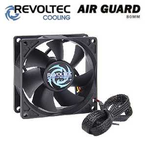 Revoltec ventilátor ''AirGuard'', 80x80x25mm