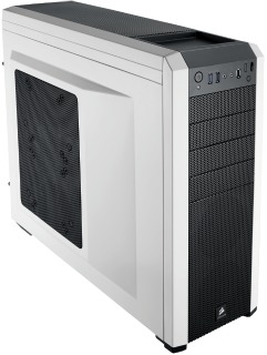 Corsair PC skříň Carbide Series 500R Mid-Tower ATX White,3x větrák 120mm+1x200mm