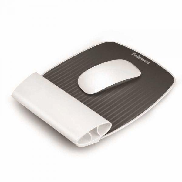 Fellowes podložka pod myš a zápěstí i-Spire™, bílá