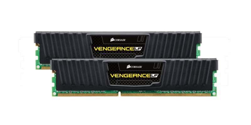 Corsair Vengeance DDR3 LP 16GB (Kit 2x8GB) 1600MHz CL9 DIMM 1.5V, šedý