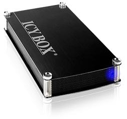 IcyBox externí box na 3.5'' HDD, SATA > USB 3.0, černý