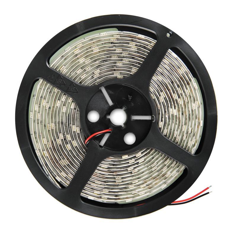 WE LED páska voděodolná 5m   30ks/m   5050   7.2W/m   12V DC   studená bílá
