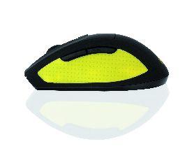 I-BOX BEE2 PRO bezdrátová optická myš, černo-žlutá