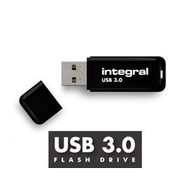 INTEGRAL Noir 32GB USB 3.0 flashdisk (čtení až 110MB/s; zápis až 20MB/s)