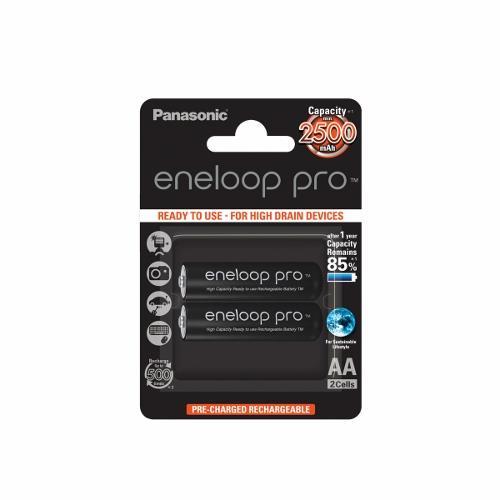 Panasonic Eneloop Pro R6/AA 2500mAh, 2 ks, Blister