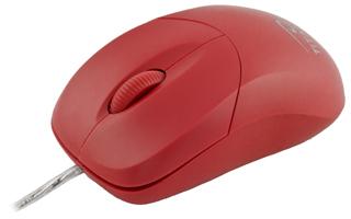 Titanum TM109R AROWANA optická myš, 1000 DPI, USB, blister, červená