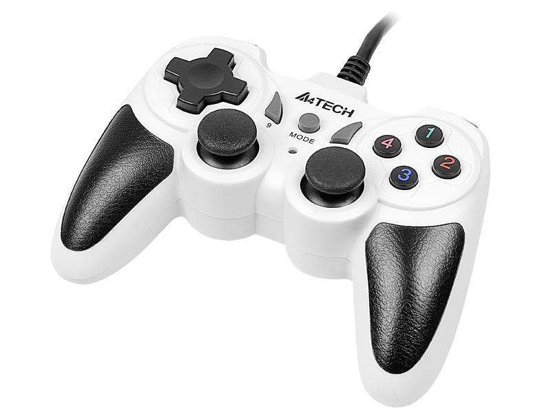 Gamepad A4Tech X7-T4 Snow USB/PS2/PS3