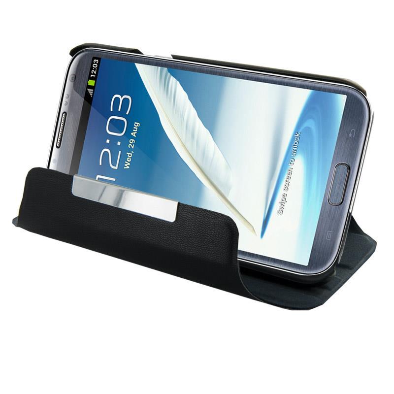 4WorldvOchranné pouzdro pro Galaxy Note 2, Rotary, 5.5'', černý