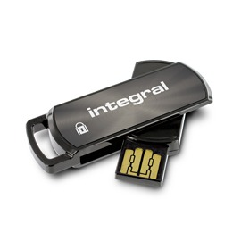 INTEGRAL Secure 360 16GB USB 2.0 flashdisk, AES 256 bit šifrování