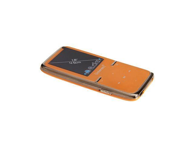 Intenso MP3 přehrávač 8GB Video Scooter LCD 1,8'' oranžový
