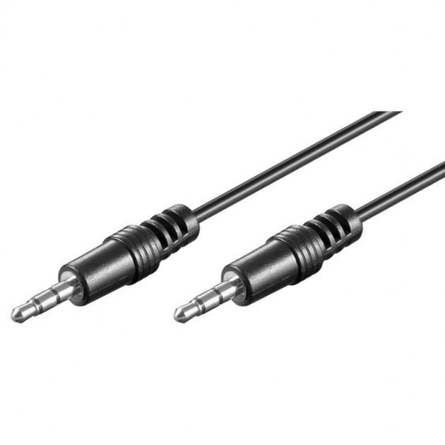 Manhattan Audio stereo kabel jack 3.5mm M/M 60cm