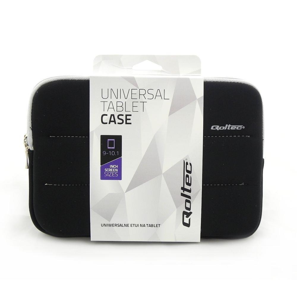 Qoltec High Effective Protection pouzdro pro tablet 9-10.1'', černé