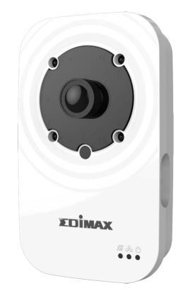 Edimax 720p Wireless H.264 IR IP Camera, HD 1280x720, Night view, Plug&View