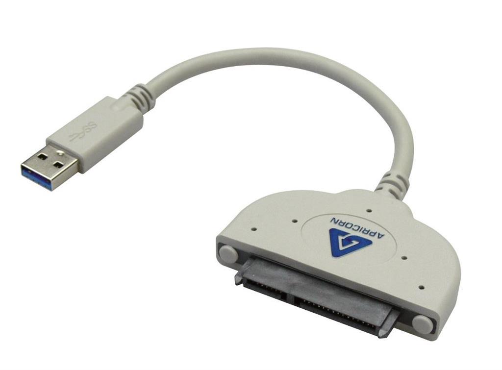 Sandberg adaptér USB 3.0 > HDD 2.5'' a SSD, SATA, bílý