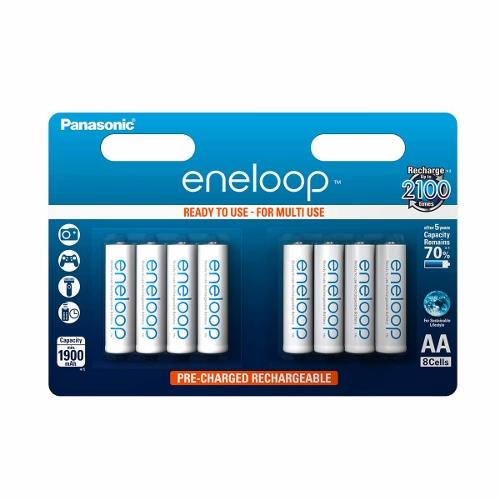 Panasonic Eneloop R6/AA 1900mAh, 8 ks, Blister