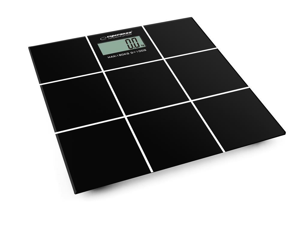 Esperanza EBS004 SALSA osobní digitální váha, černá