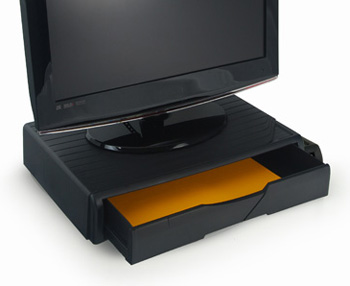 A4 Organizer/Stand for printers, MFP's and monitors (black)
