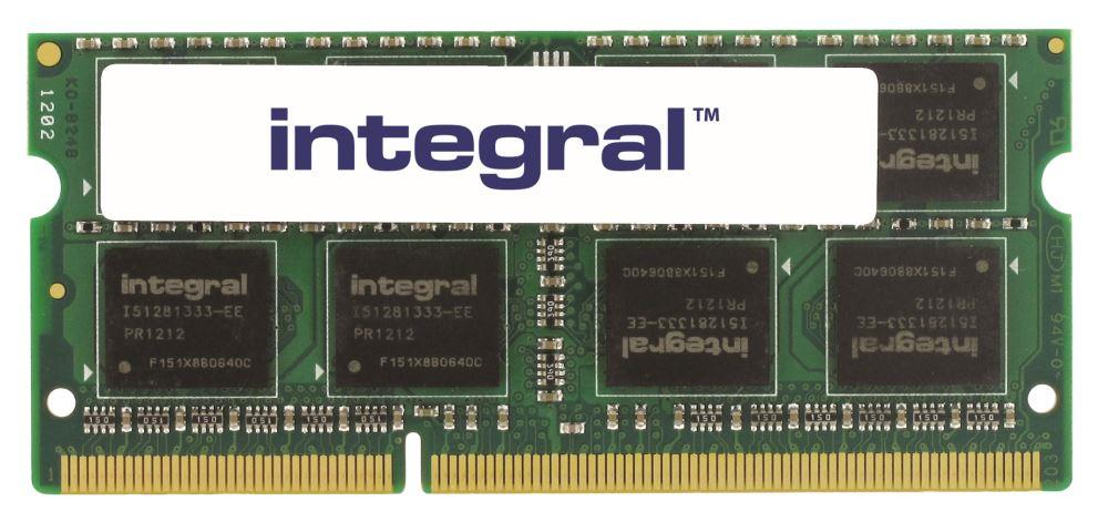 INTEGRAL 4GB 1600MHz DDR3 CL11 SODIMM 1.5V