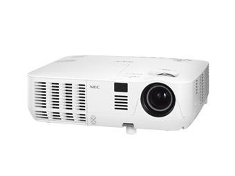 NEC DLP proj. V281W - 2800lm,WXGA,HDMI,LAN
