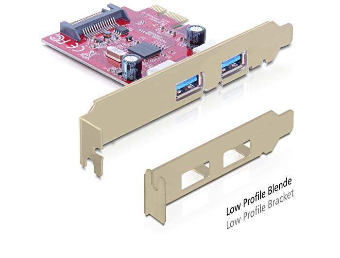 Delock PCI Express Card > 2x USB 3.0