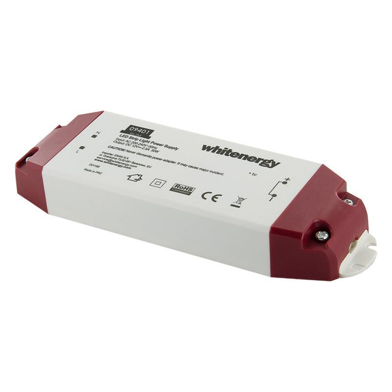 Whitenergy Napájecí zdroj pro LED Slim 230V 30W 12V