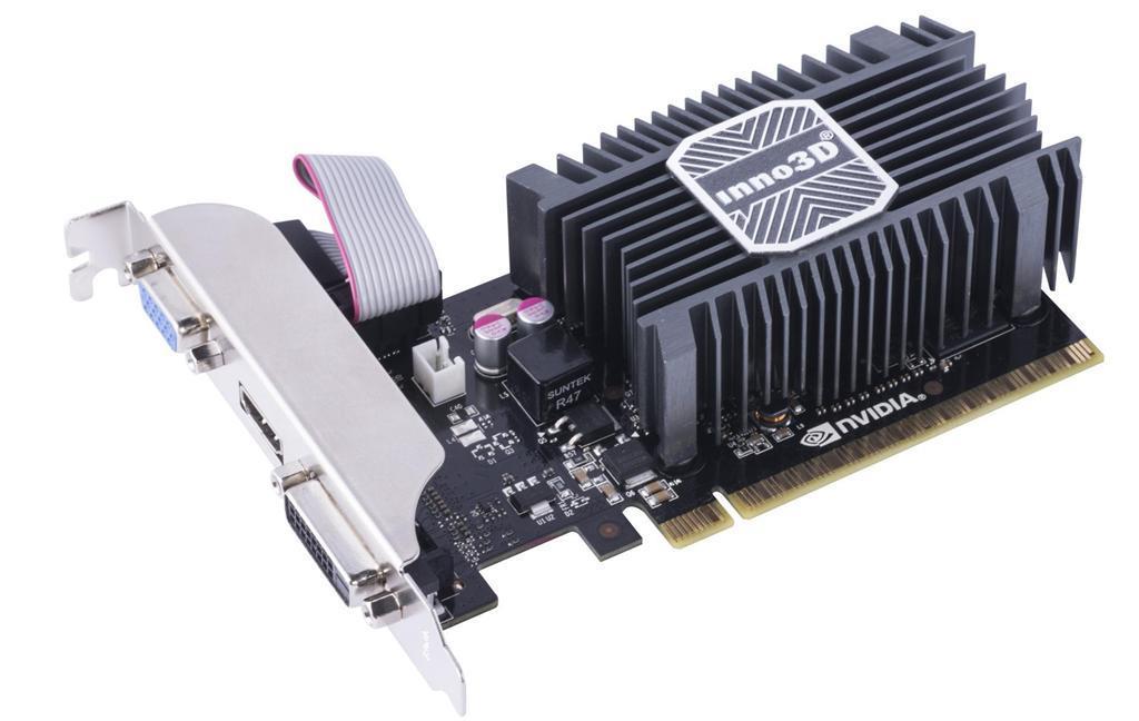 Inno3D GeForce GT 730, 2GB SDDR3 (64 Bit), HDMI, DVI, D-Sub