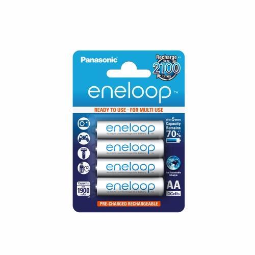 Panasonic Eneloop R6/AA 1900mAh, 4 ks, Blister