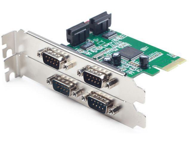 Gembird PCI Express card > 4x serial