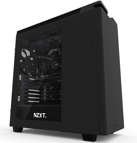 NZXT PC skříň H440 matná černá, s oknem