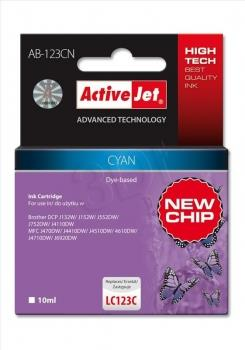 ActiveJet ink Brother LC123 / LC125 Cyan AB-123CN 10 ml