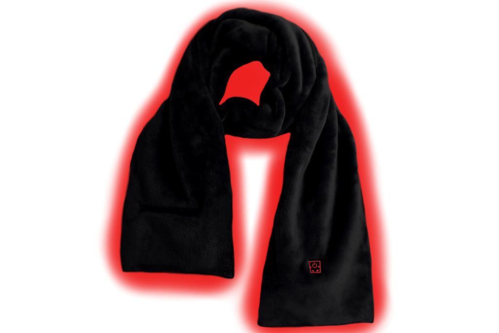 SUNEN Glovii - Vyhřívaný termoaktivní šátek, velikost UNI, černý