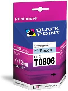 Ink Black Point BPET0806 | Light magenta | chip | 13 ml | Epson T0806