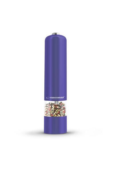 Esperanza EKP001V MALABARA mlýnek na pepř, fialový