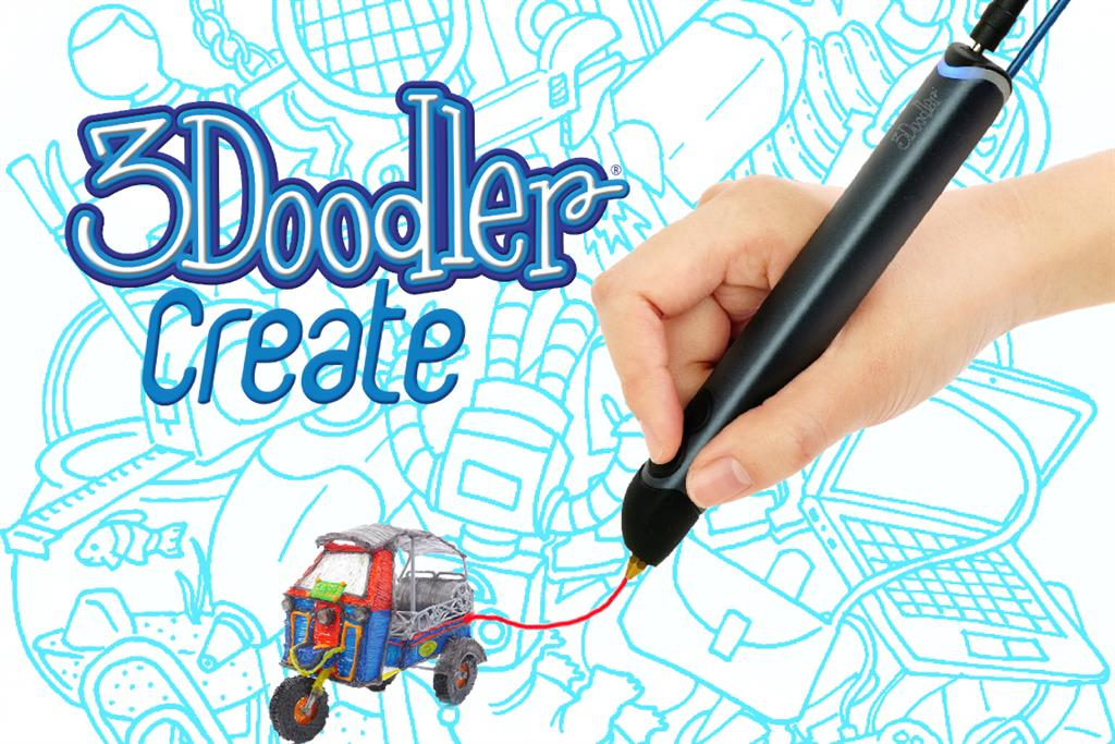 3DOODLER Create - 3D pen, manual 3D printer