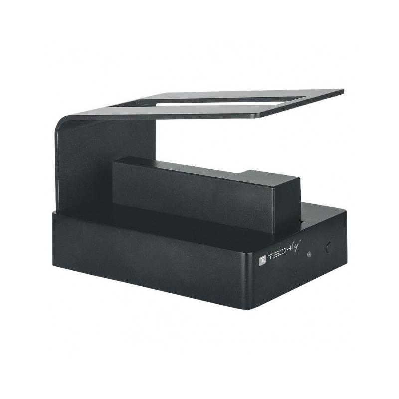Techly USB 3.0 dokovací stanice pro 2.5''/3.5'' SATA HDD, s OTB, černá