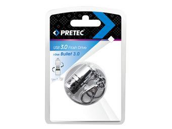 Pretec i-Disk BulletProof Extreme 16 GB (100/20 MB/s), USB3.0