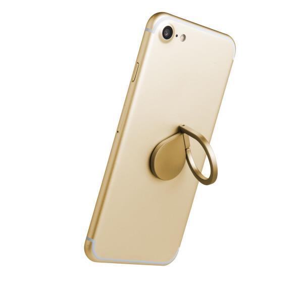 Celly RING univerzální držák na telefon, zlatý