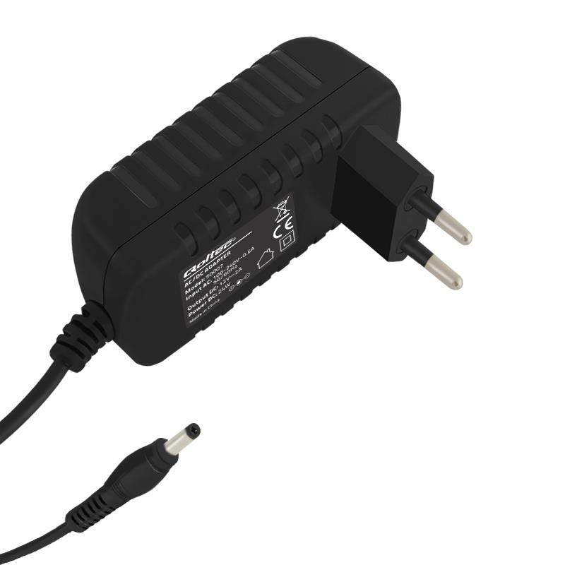 Qoltec AC adapter 24W | 12V | 2A | 5.5*2.1 | 1,4m