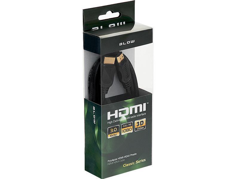 BLOW CLASSIC kabel HDMI-HDMI 3m