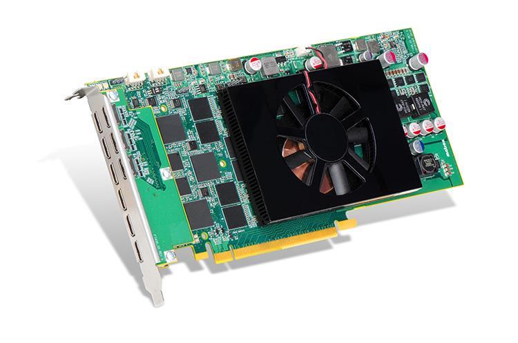 Matrox C900, 4GB GDDR5, PCIe 3.0 x16, 9x miniHDMI