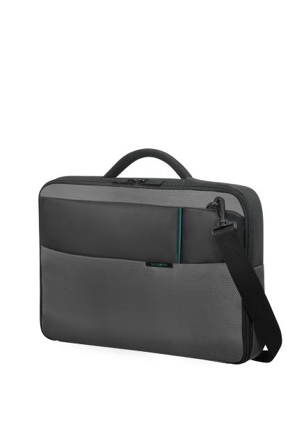 Case SAMSONITE 16N09007 15,6'' QIBYTE, one handle, anthracite