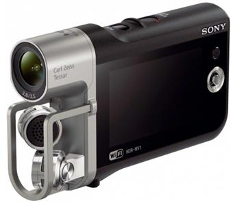 SONY HDR-MV1 HDR MV1 Hudební videorekordér, Full HD, Lineární PCM, Wi-Fi®/NFC