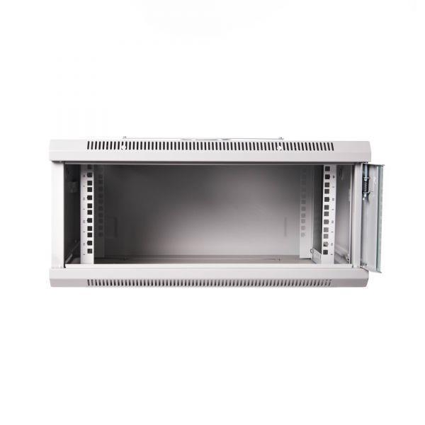 DIGITUS Nástěnný rozvaděč 19'' jednodílný 4U 600x450 RAL 7035