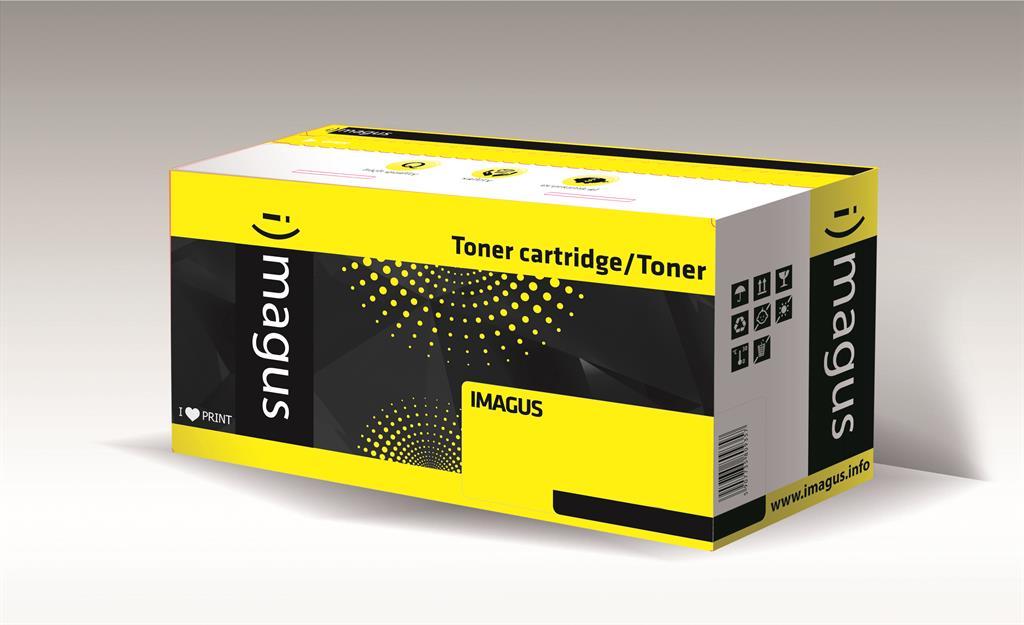 Toner Imagus IMH85ABK | 1600 str. | Black | HP | CE285A